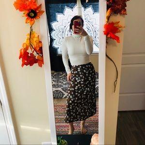 🍁 3/$30 VINTAGE fall skirt